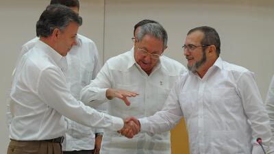 Gobierno de Colombia y FARC anunciarán un acuerdo sobre el espinoso punt...