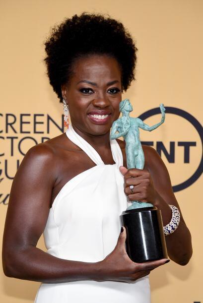 Viola Davis, Mejor actriz de drama en TV, por la serie nueva 'How to get...