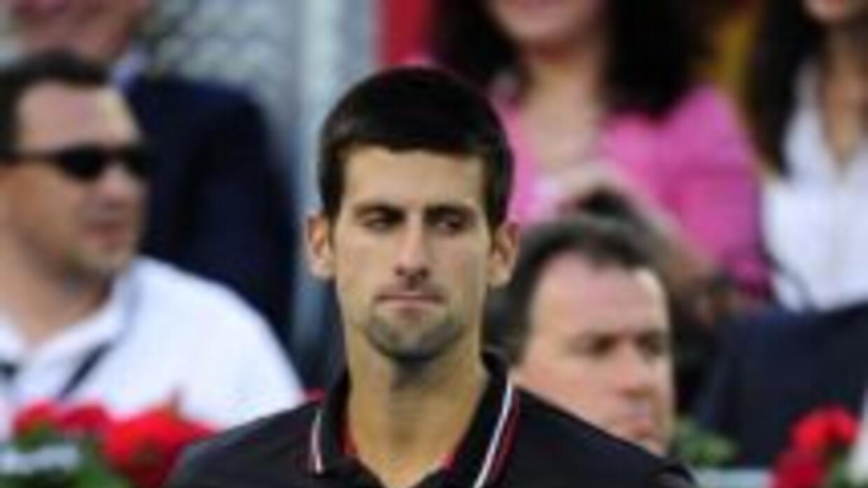 Novak Djokovic no está conforme con la arcilla azul.