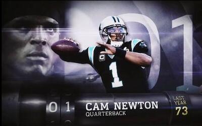 TOP 100 jugadores 2016 #1 Cam Newton