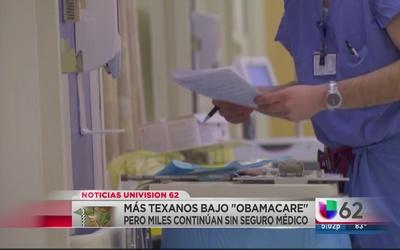 Más texanos se benefician de Obamacare