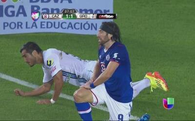 El gol se le sigue negando a Pavone
