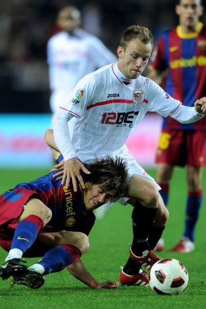 Pero no todo estaba dicho, el Sevilla reaccionó en la segunda par...
