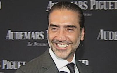 Alejandro Fernández evitó hablar de su padre