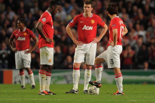 Era sorpresa el resultado y los jugadores del conjunto inglés no lo podí...
