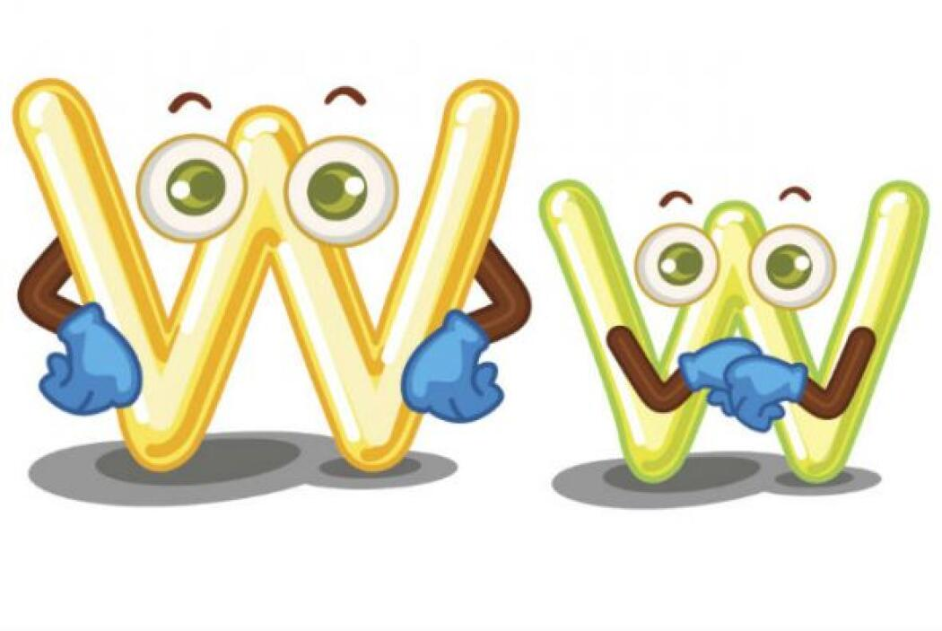 W - w