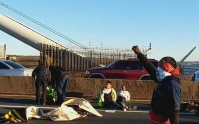Detienen a decenas de manifestantes a favor de inmigrantes que paralizar...