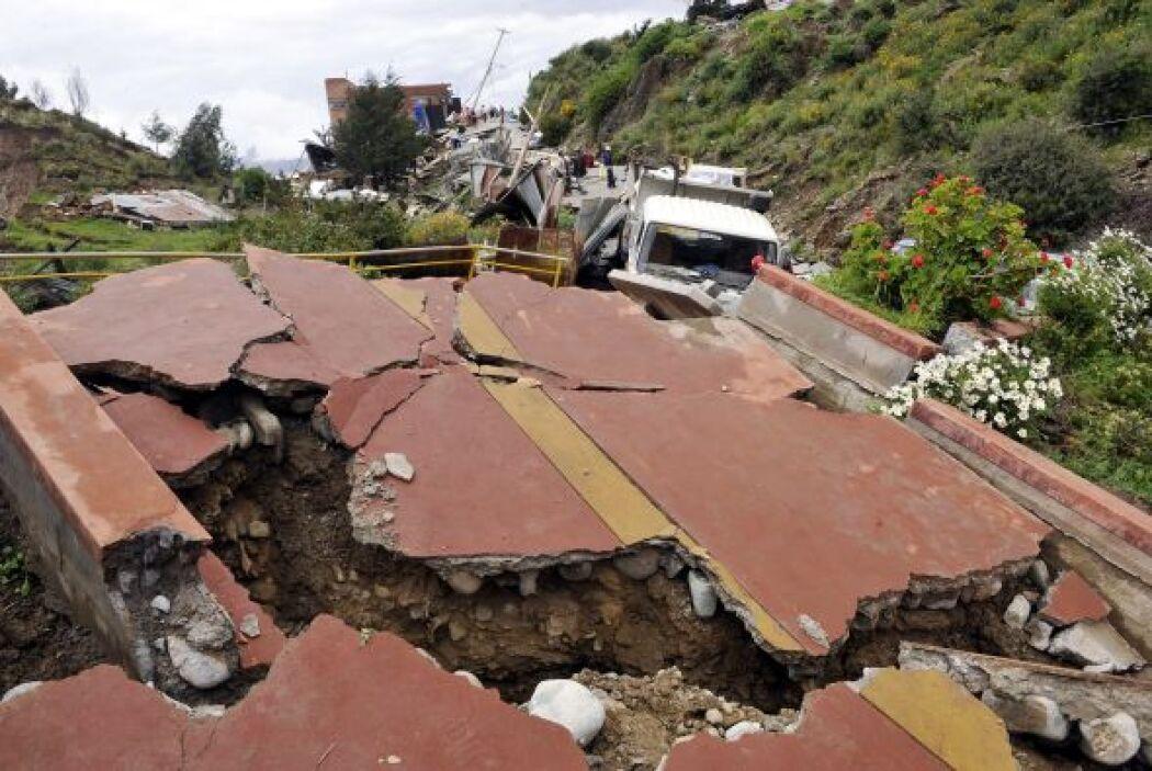 Las lluvias han provocado desbordes de ríos, inundaciones y la pérdida d...