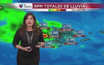 Llueve fuerte en casi todo Puerto Rico