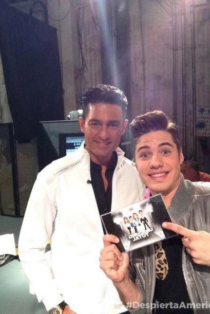 """""""#selfie con #FernandoColunga en casita @DespiertaAmeric"""", compartió Wil..."""
