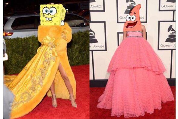 Ahora sí, Rihanna puede aparecer en la caricatura de Bob Esponja.