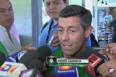 """Pedro Caixinha: """"Yo vine a trabajar"""""""