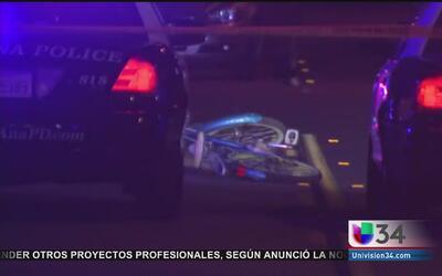 Policía de Santa Ana abatió a mujer que atacó a tres con cuchillo