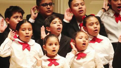 Refugio de esperanza: Este coro transforma la vida de niños inmigrantes...