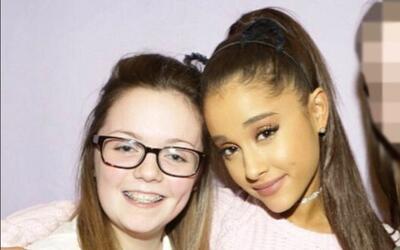 Georgina, junto a Ariana Grande