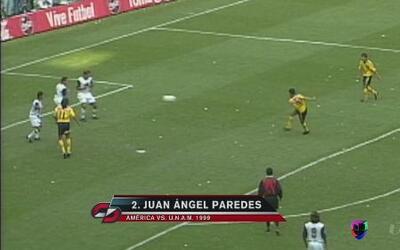 Los 5 mejores goles entre América y Pumas
