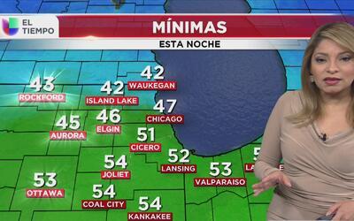 Con cielo nublado y lluvia, así amanecerá Chicago este domingo 26 de marzo