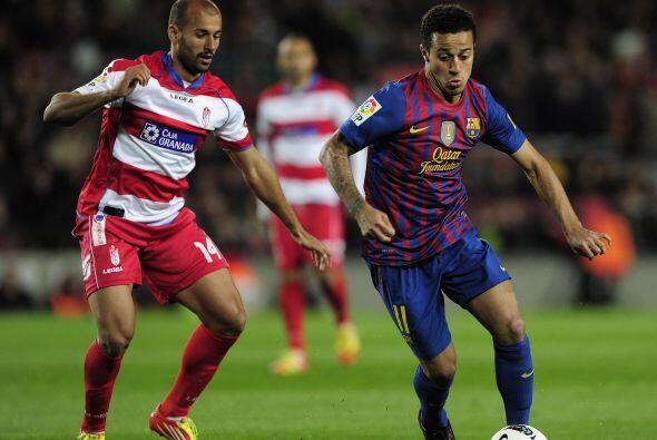 En la segunda mitad, el Barcelona comenzó dormido mientras que el...