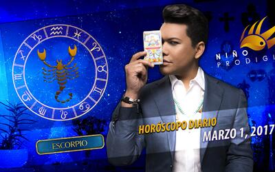 Niño Prodigio - Escorpión 1 de marzo, 2017