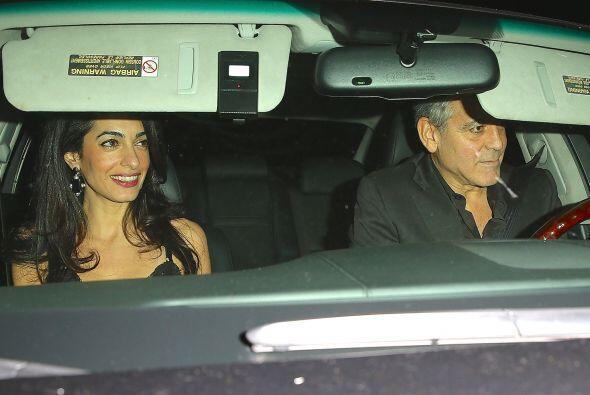 ¿Será que la esposa de Clooney está buscando un papel estelar en Hollywood?