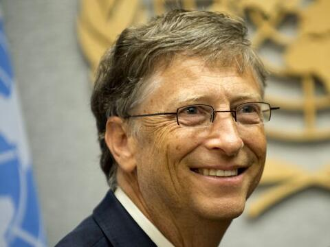 Bill Gates mantiene el liderato en la lista de los hombres más ad...