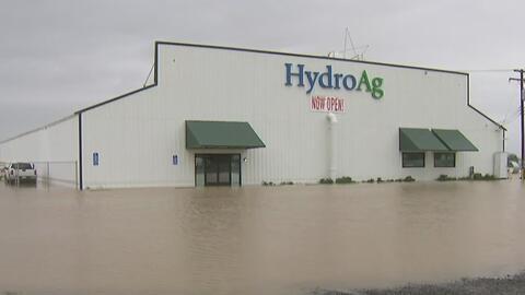 Temen posibles inundaciones al norte de Sacramento por tormentas