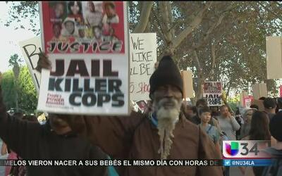No dan tregua las protestas en Los Angeles