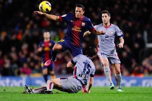 Antes de que terminara la primera parte, Pedro amplió la ventaja a 3-1 y...