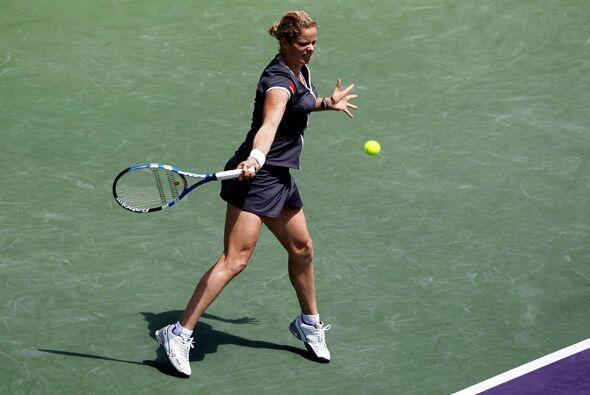 Clijsters aprovechó cada instante para demostrar que su llegada a...