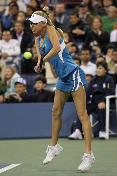 ANA KOURNIKOVA. La guapa que se diera a conocer por el tenis y su noviaz...