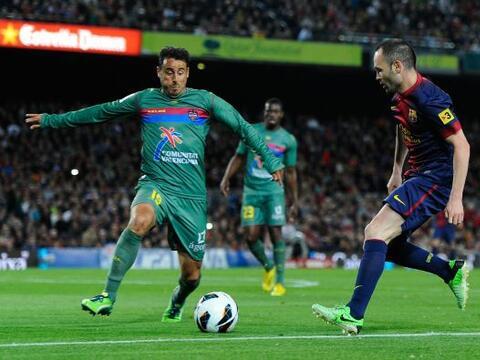 Barcelona recibió al Betis en el Camp Nou en la jornada 32 de la Liga.