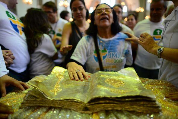 Las reliquias han peregrinado por varios países de América...