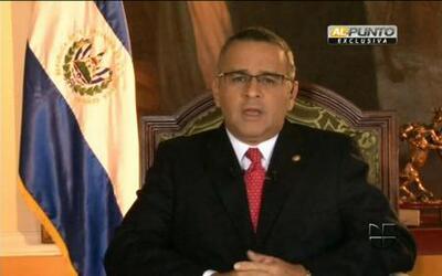 Jorge Ramos entrevista en exclusiva al presidente de El Salvador Maurici...