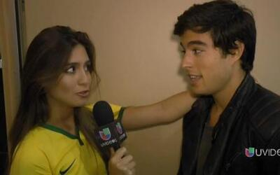 Caipiriña retó a Danilo: Me quito la camisa si dices 10 palabras en port...