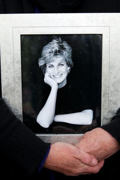 La imagen de la princesa Diana estaba muy presente.