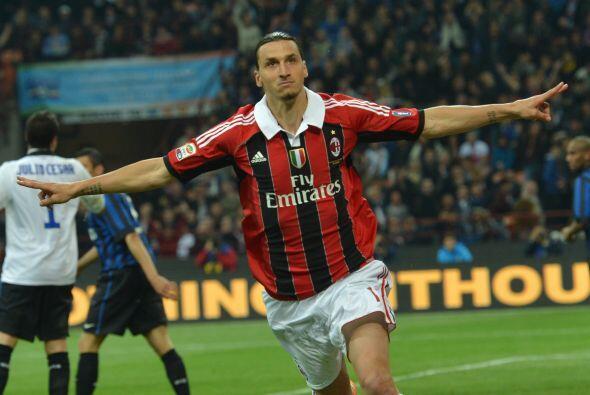 El 'Capocannonieri' fue el atacante sueco Zlatan Ibrahimovic gracias a s...