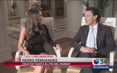 """Pedro Fernández un galán """"Hasta el Fin del Mundo"""""""