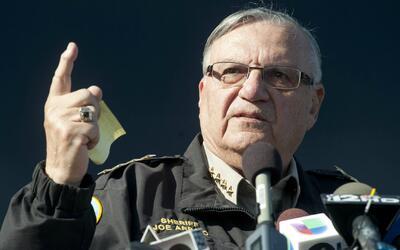 Siguen marchas en contra de la sexta reelección del alguacil Joe Arpaio