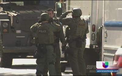 Fuerte operativo policial en Gage Park