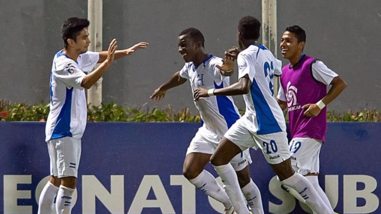 Los Catrachos consiguieron su pase al Mundial Sub 17 al ganr el Grupo A...