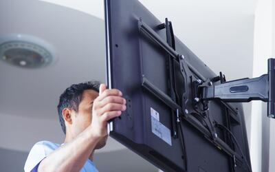 Soporte de pared para televisores de pantalla plana