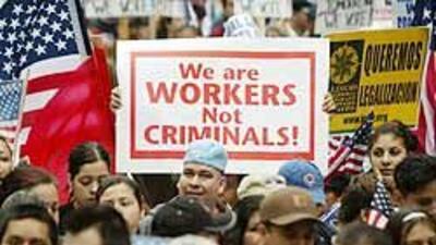 En Estados Unidos viven al menos 11 millones de inmigrantes indocumentados.