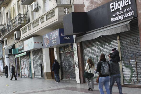 La huelga, la segunda del año contra el Gobierno de Cristina Fernández,...