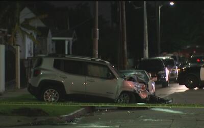 Violento choque en el sur de Los Ángeles cobró la vida de un anciana