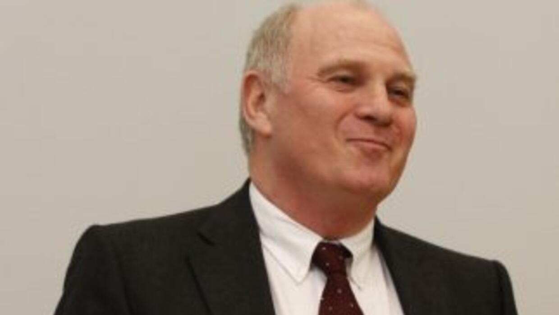El campeón mundial del 74 y actual presidente del BayernUli Hoeness.