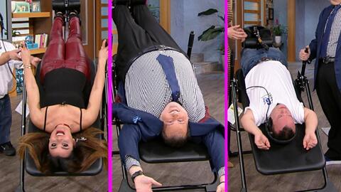 Raúl puso a Clarissa y a Carlitos 'el productor' literalmente cabeza aba...