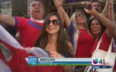 Costa Rica, un equipo que pasa a la historia
