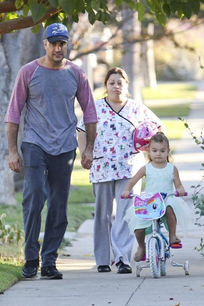 La paternidad es algo que disfruta al máximo el actor mexicano, Jaime Ca...