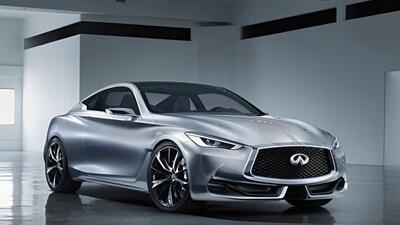 El vehículo de producción inspirado en el Q60 está pensado para competir...