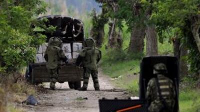 La guerrilla comunista FARC negó tener en su poder a una niña de diez añ...